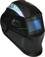 pure black colour helmets with decals or not may suitable for your welding style