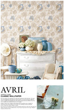 Latest designs 3d flower deep embossing wallpaper for home decor