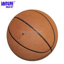 Microfiber Standard Size Brown Basketballs For Students Training