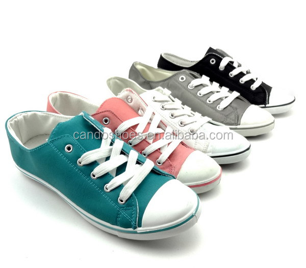 ladies large size shoes for women pu upper