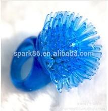 disco party fashion led plastic finger ring flashlight led gift