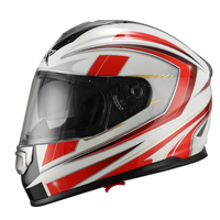 DOT/ECE two visor Full Face Helmet JX-FF005 JIX motor cascos