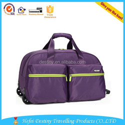 popular style large capacity handle luggage trolley shopping bag vegetable