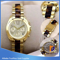 New Product wrist Vogue Watch, Stainless Steel back vogue MK wrist watch