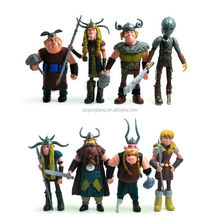 "Hot Funny A Set 8pcs Movies How To Train Your Dragon 4.8"" Figure Toys Xmas Gift"