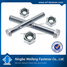 Lowest price for import furniture from china hex bolt zinc plated Made in China