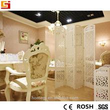 Moderno decorativo mampara plegable china de habitación