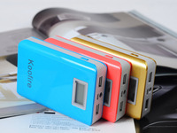 HOT!!! best selling product High Capacity Rechargeable External Battery Pack Portable Power Bank