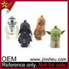 Wholesale Star Wars Figure PVC Yoda Keychain