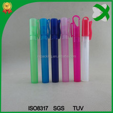 10ml plastic pen perfume bottle use for promation or samples