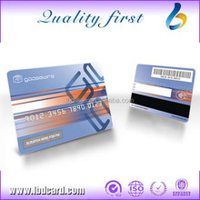 CR80 PVC Laser Card for Business 1k Bytes RFID Card with Magnetic Stripe