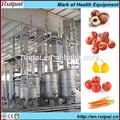 Jugo de frutas línea de procesamiento en maquinaria se utiliza para orange/mango