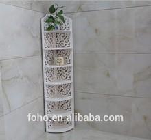 Modernos de DIY estante de exhibición de madera blanca estante del cubo DIY