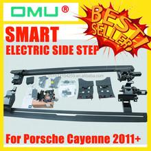 OMU Smart automatic side steps for Porsche Cayenne 2011+ Auto Accessories Auto Parts