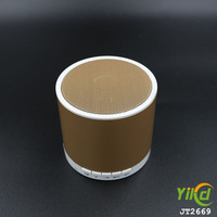 OEM Portable Mini Outdoor Wireless bluetooth vibration speaker metal case