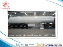 HCSV Brand Leaf spring suspension with Air suspension 4 axle tank trailer