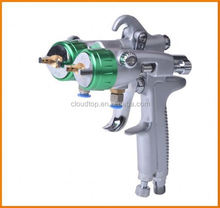 2015 best on sales wheel tire cleaner two head double nozzle gun