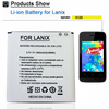 2015 Best Quality replacement original capacity mobile phone battery for Lanix s120