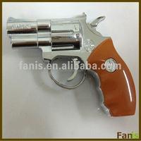 Creative Gun Shaped Refillable Windproof cigarette Lighter