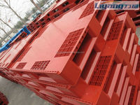 1200*1000 empty beverage bottles tray and cans packing plastic pallets in china.