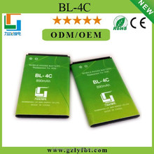 New high quality mobile phone battery battery for nokia bl-4c bl 4c 6300 6136 6102i 6170 6260