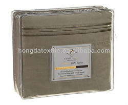 1800 THREAD COUNT LUXURY EGYPTIAN COTTON SHEET SET SAGE OLIVE GREEN