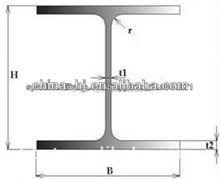 light steel beam/steel i-beam prices for vehicle usage