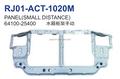 Manual de tipo ( pequeña distancia ) soporte del radiador del para hyundai accent 00 - 01 OEM 64100 - 25400