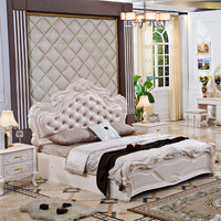 China Foshan New Design Modern Luxury Elegant Master and Teen King Queen Size Bedroom Furniture Set for Home Hotel in Hot Sale
