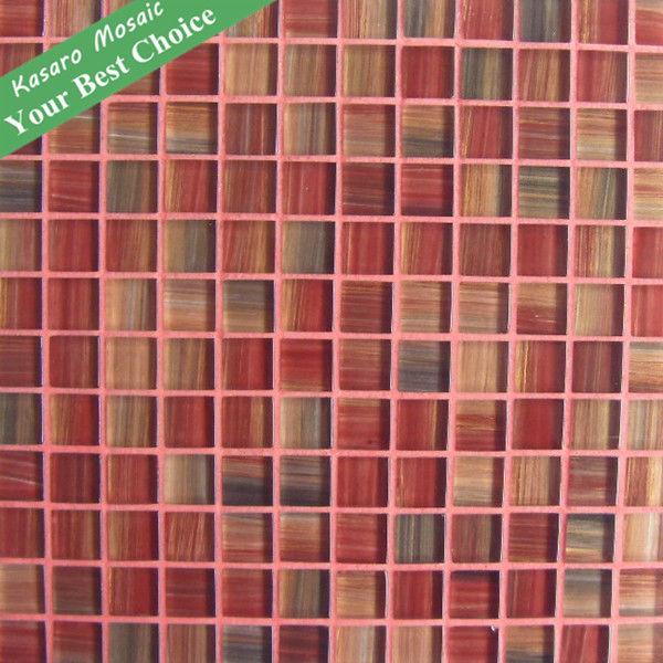 Pittura di piastrelle di vetro modelli mosaico murale kn 12122113 - Piastrelle di vetro ...