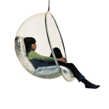 Wholesale custom hot sell swing or hanging clear acrylic bubble chair