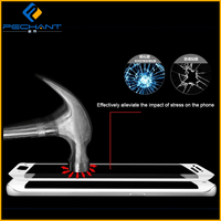 New Products Perfect Design For Samsung Galaxy S6 Edge Full Cover Tempered Glass Screen Protectors