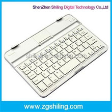Aluminum Keyboard For iPad Mini 1 2 3 Lithium Battery Portable Wireless Bluetooth Keyboard