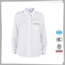 Fabricación profesional el último diseño barato bellas damas blusa diseños