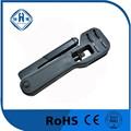 Rg59/6/7/11 f- conector pleno de compresión titular de la herramienta que prensa