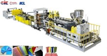 PP STATIONERY SHEET PASTIC ExtruDER MACHINE