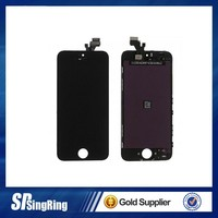 original and new for iphone 5c lcd accessories, for iphone 5c digitizer touch screen front panel parts