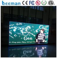 led video curtain wall oval glass display cabinet