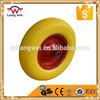 Flat free wheelbarrow tire / Urethane Solid Foam Wheel / wheelbarrow PU foam wheel
