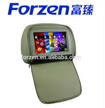 Car audio 9 inch dvd headrest player with hdmi input, DVB-T, ISDB-T, TV function