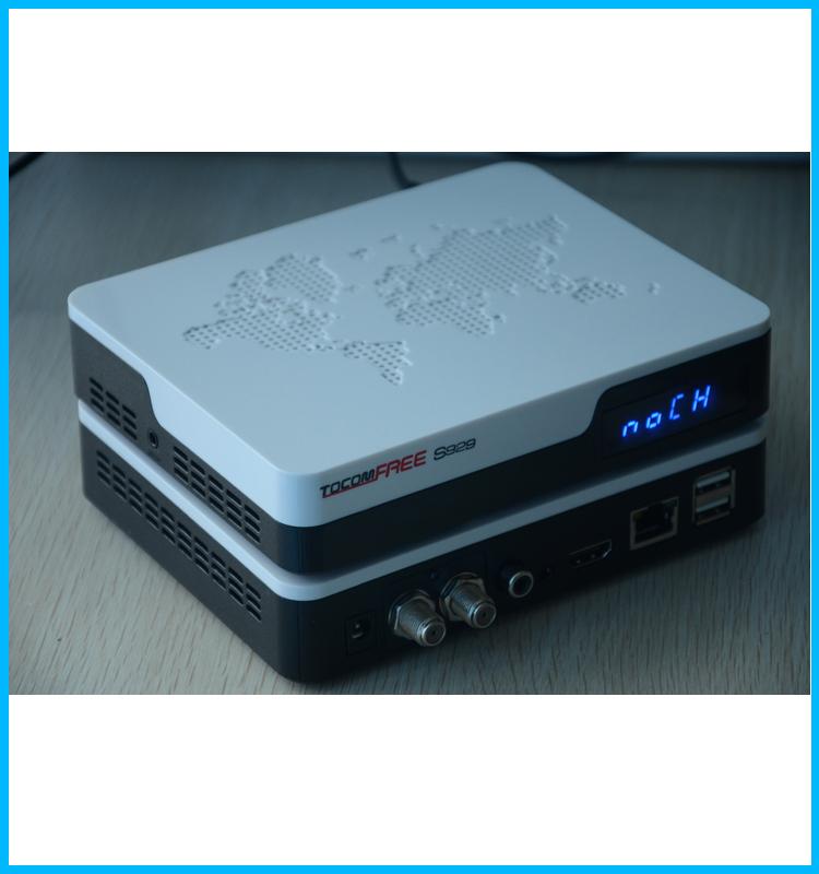 Lo nuevo receptor tocomfree S929 decodificadores satelitales hd con iks sks IPTV para América del Sur