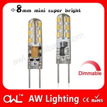 uv lamp flashlights dimmable led bulb G4 led lights keyword
