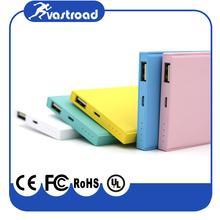 Wholesale Ultra Slim credit card Power Bank Colorful 4000mah more than 2600mah