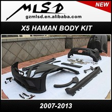 2007-2013 china supplier automobile cars auto spare part X5 HM haman E70 body kit
