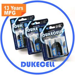 Factory Wholesales lr20 alkaline battery 1.5v d with OEM service