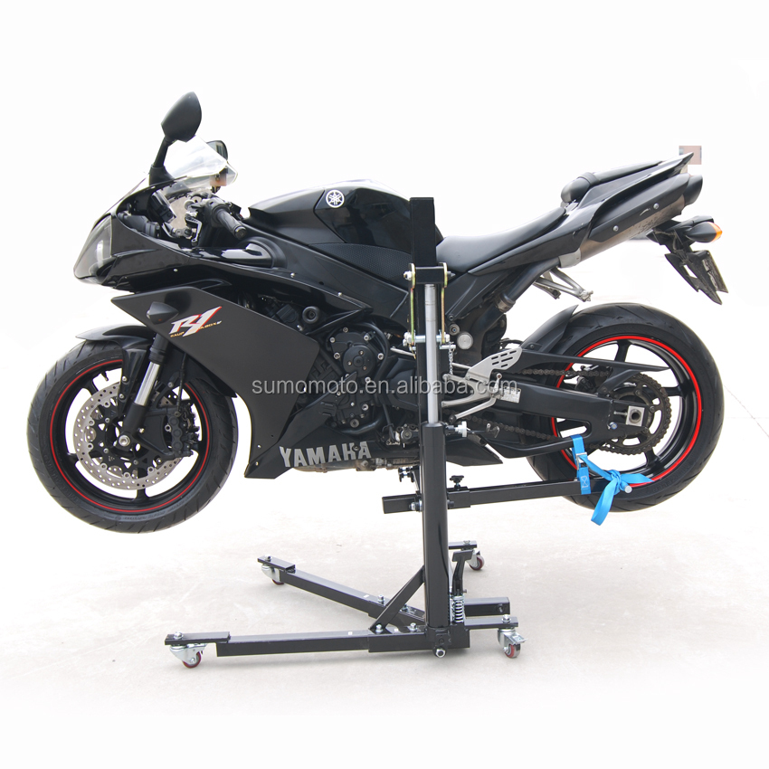 Hydraulic Motorcycle Stand : Motorcycle sky lift with hydraulic cylinder