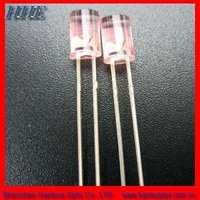 Hot sell 5mm 460nm blue Flat top led with ROHS
