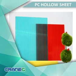 Polycarbonate colored solar plastic sheet