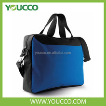 Xiamen good quality Strong and durable polyester Black document bag 1680D