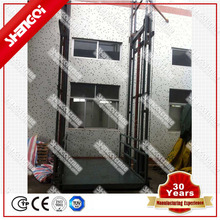 Wall Mounted Electric Freight Elevator